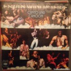 Discos de vinilo: EARTH WIND & FIRE: ?SING A SONG CANTO UNA CANCION ED. ESPAÑA 1976. Lote 143182626