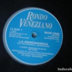 Discos de vinilo: RONDO VENEZIANO LA SERENISSIMA / SINFONIA PER UN ADDIO . Lote 143182986