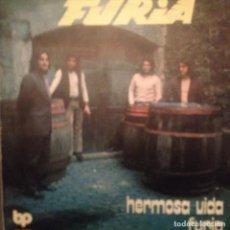Discos de vinilo: FURIA HERMOSA VIDA / FURIA SG DIABOLO 1971. Lote 143183246