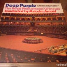 Discos de vinilo: DEEP PURPLE CONCERTO FOR GROUP AND ORCHESTRA ED ALEMANA. Lote 143183770