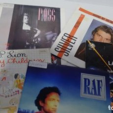 Discos de vinilo: LOTE DE 5 SINGLES (VINILO) DE ITALO DISCO. Lote 143186382