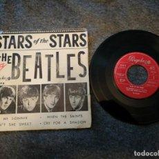 Discos de vinilo: SINGLE VINILO LP THE BEATLES – STARS OF THE STARS 10049 B MONO ED ESPECIAL COLECCION RARO . Lote 143187542
