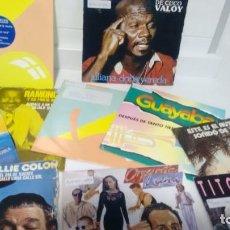Discos de vinilo: LOTE DE 10 SINGLES DE SALSA . Lote 143188322