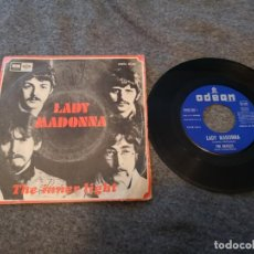 Discos de vinilo: THE BEATLES ?– LADY MADONNA LP VINILO SINGLE 7 . Lote 143188738