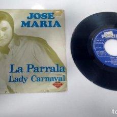 Discos de vinilo: SINGLE (VINILO) DE JOSE MARIA AÑOS 60 ( FLAMENCO-ROCK). Lote 143189230