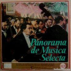 Discos de vinilo: PANORAMA DE MUSICA SELECTA - 8 LP´S + LIBRETO EN ESPAÑOL 1962 - RCA. Lote 143189934