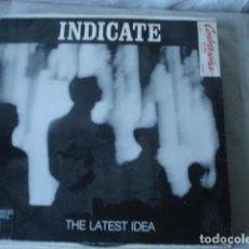 Discos de vinilo: INDICATE THE LATEST IDEA . Lote 143192846