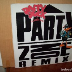 Discos de vinilo: DAFFY DUCK - PARTY ZONE - MAXI SINGLE . Lote 143194314