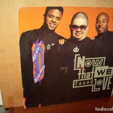 Discos de vinilo: HEAVY ANT THE BOYZ - NOW THAT WE FOUND LOVE - MAXI SINGLE HIP HOP. Lote 143194726
