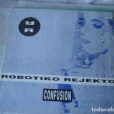 Discos de vinilo: ROBOTIKO REJEKTO CONFUSION . Lote 143195278