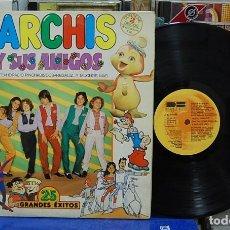 Discos de vinilo: PARCHIS Y SUS AMIGOS. BELTER 1981, REF. 2-87015/16. LP DOBLE. Lote 143195538