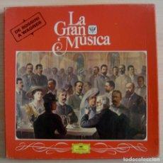 Discos de vinilo: LA GRAN MUSICA - DE ROSSINI A WAGNER - CAJA CON 4 LP´S. Lote 143196702