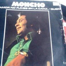 Discos de vinilo: SINGLE (VINILO) DE MONCHO AÑOS 70. Lote 143198662