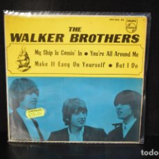 Discos de vinilo: THE WALKER BROTHERS - MY SHIP IS COMIN IN +3 - EP. Lote 143201150