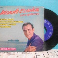 Discos de vinilo: MANOLO ESCOBAR Y SUS GUITARRAS - MI REINA GINATA +3 - EP BELTER 1962. Lote 143205374