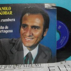 Discos de vinilo: MANOLO ESCOBAR / LA RUMBERA / NIÑA DE CARTAGENA (SINGLE 1972). Lote 143205698