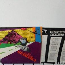 Discos de vinilo: TNT MANIFIESTO GUERNIKA LP 1983 (PUNK, ESKORBUTO, VULPESS,091,RIP, BANDA TRAPERA DEL RIO,. Lote 143208902