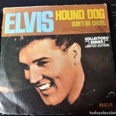 Discos de vinilo: ELVIS PRESLEY - PERRO DE CAZA SINGLE. Lote 143210994