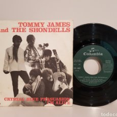 Discos de vinilo: TOMMY JAMES AND THE SHONDELLS.(CRYSTAL BLUE PERSUASION+I'M ALIVE) COLUMBIA.(SINGLE). Lote 143221184