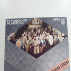 Discos de vinilo: EL SONIDO DE FILADELFIA MFSB THE PHILADELPHIA SOUND ( 1974 PHILADELPHIA INTERNATIONAL RECORDS SP ). Lote 143223222