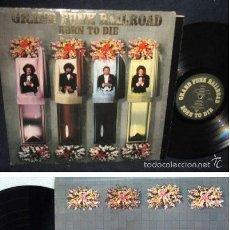 Discos de vinilo: GRAND FUNK RAILROAD - BORN TO DIE 1975 !! RARA COMPLETA 1ª EDIC ORG USA + ENCARTE, EXC. Lote 57893789