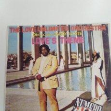 Discos de vinilo: THE LOVE UNLIMITED ORCHESTRA BARRY WHITE LOVE'S THEME / RHAPSODY IN WHITE ( 1974 20TH CENTURY RECORD. Lote 143225362