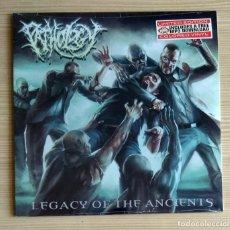 Discos de vinilo: PATHOLOGY - LEGACY OF THE ANCIENTS 12'' LP PRECINTADO - DEATH METAL. Lote 143228514