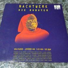 Discos de vinilo: NACHTWERK / TAGWERK - DIE ROBOTER / DER FLÖTENTANZ. Lote 143230152