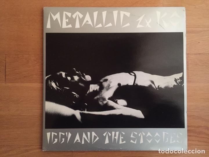 IGGY AND THE STOOGES: METALLIC 2X KO (Música - Discos - LP Vinilo - Pop - Rock - Extranjero de los 70)