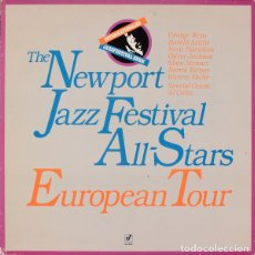 Discos de vinilo: THE NEWPORT JAZZ FESTIVAL ALL-STARS ?– EUROPEAN TOUR . Lote 143238850