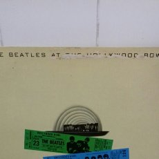 Discos de vinilo: THE BEATLES AT THE HOLLYWOOD BOWL. Lote 143243021