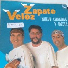 Discos de vinilo: SINGLE (VINILO) DE ZAPATO VELOZ AÑOS 90. Lote 143243122