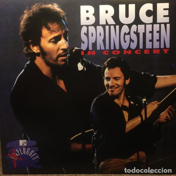 LP BRUCE SPRINGSTEEN - IN CONCERT / MTV UNPLUGGED 2LP (Música - Discos - LP Vinilo - Pop - Rock Extranjero de los 90 a la actualidad)