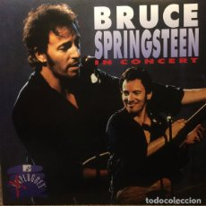 Discos de vinilo: LP BRUCE SPRINGSTEEN - IN CONCERT / MTV UNPLUGGED 2LP. Lote 143243166