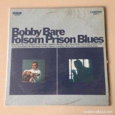 Discos de vinilo: BOBBY BARE - FOLSOM PRISON BLUES (1968) LP. Lote 143248858