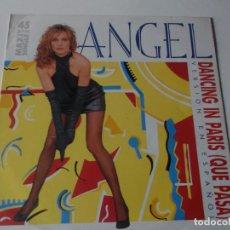 Discos de vinilo: ANGEL DANCING IN PARIS QUE PASA VERSION EN ESPAÑOL. Lote 143257482
