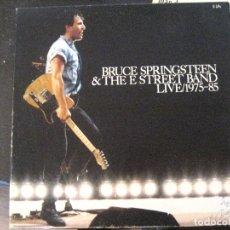 Discos de vinilo: BRUCE SPRINGSTEEN- LIVE 1975-85- SPAIN 5 LP 1986 + LIBRETO- VINILOS EXC. ESTADO. Lote 142994206