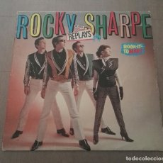 Discos de vinilo: ROCKY SHARPE AND THE REPLAYS ROCK IT TO MARS. Lote 143285990