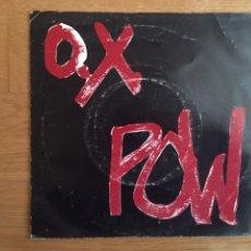 Discos de vinilo: O. X. POW: ESPERANDO EN LA CALLE (PRIMERA EDICIÓN DOS ROMBOS). Lote 143297134