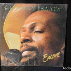 Discos de vinilo: GREGORY ISAACS - ENCORE - LP. Lote 143297374