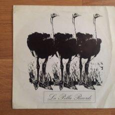 Discos de vinilo: LA POLLA RECORDS: EL AVESTRUZ / LA RATA (PARTE 1) - LA RATA (PARTE 2). Lote 143299472