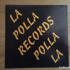 Discos de vinilo: LA POLLA RECORDS: LUMBRERAS / FUEGO Y CRISTAL. Lote 143300408
