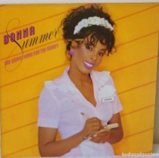 Discos de vinilo: DONNA SUMMER - SHE WORKS HARD FOR THE MONEY MERCURY - 1983 . Lote 143304542