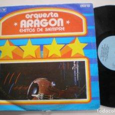 Discos de vinilo: ORQUESTA ARAGON - EXITOS DE SIEMPRE - LP CUBA AREITO 1970? // LATIN SALSA GUAGUANCO AFRO CUBAN. Lote 143307874