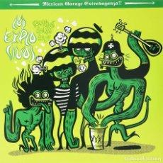 Discos de vinilo: LP LOS EXPLOSIVOS SONIDOS ROCANROL!!! VINILO GARAGE VINYL. Lote 143311398
