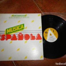 Discos de vinilo: FELIPE CAMPUZANO SEVILLA ( ANDALUCIA ESPIRITUAL ) LP VINILO PROMO FUNDADOR 1978 CONTIENE 8 TEMAS. Lote 143311422
