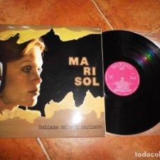 Discos de vinilo: MARISOL HABLAME DEL MAR MARINERO PEPA FLORES LP VINILO AÑO 1976 GATEFOLD MANUEL ALEJANDRO 10 TEMAS. Lote 143313318