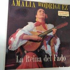 Discos de vinilo: AMALIA RODRIGUES - LA REINA DEL FADO. EDICIÓN DE VENEZUELA. RAREZA!! LP. Lote 143321282