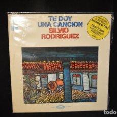 Discos de vinilo: SILVIO RODRIGUEZ - TE DOY UNA CANCION - LP. Lote 143324570