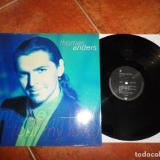 Discos de vinilo: THOMAS ANDERS CAN´T GIVE YOU ANYTHING MAXI SINGLE VINILO 1991 ALEMANIA MODERN TALKING CANTA ESPAÑOL. Lote 143327170
